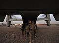 RAF Regiment Soldiers Deploy on US Osprey Rotary Wing Aircraft on Operation Backfoot in Afghanistan MOD 45153788.jpg
