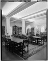 READING ROOM, GENERAL VIEW - The Bishop's School, 7607 La Jolla Boulevard, La Jolla, San Diego County, CA HABS CAL,37-LAJOL,2-7.tif