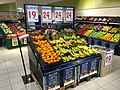 REMA 1000 Supermarket interior grocery store Tønsberg, Norway 2017-11-03 fruit vegetables.jpg