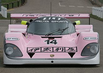 Richard Lloyd Racing - A Porsche 962C GTi in the team's 1990 color scheme, sponsored by Italiya.