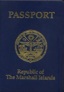 Marshallese passport passport