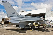 RSAF F-16D Block 52+ Fighting Falcon with Conformal Fuel Tanks 02