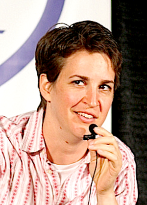 Rachel Maddow - Image: Rachel Maddow in Seattle cropped