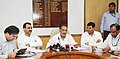Radha Mohan Singh announcing the result of All India- Pre Veterinary Test (AIPVT), in New Delhi. The Ministers of State for Agriculture.jpg