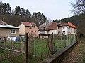 Radotín, Slavičí, domy zezadu.jpg