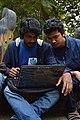 Rafaell Russell & Fahaad Ameen at Wikipedia 15 good article edit-a-thon and adda, Chittagong 2 (02).jpg
