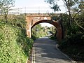 Rail bridge, over Sowden Lane, Lympstone - geograph.org.uk - 1028211.jpg