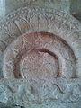 Railing Pillars with Amaravati Art at Velpuru Ramalingeswara Temple 03.jpg