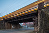 Railroad bridge freight train bypass Wunstorfer Strasse Ahlem Limmer Hannover Germany 02.jpg