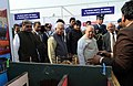 Ram Naik and the Union Minister for Micro, Small and Medium Enterprises, Shri Kalraj Mishra visiting an exhibition, at the foundation stone laying ceremony of MSME Technology Centre, at Greater Noida, Uttar Pradesh (1).jpg