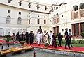Ram Nath Kovind, the Vice President, Shri M. Venkaiah Naidu, the Speaker, Lok Sabha, Smt. Sumitra Mahajan and the Prime Minister.JPG