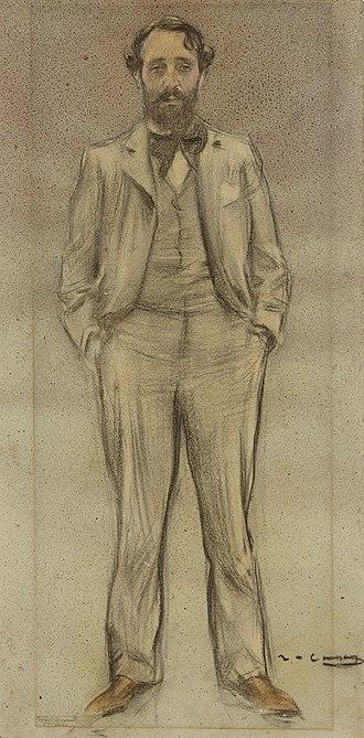 Enric Clarasó - Enric Clarasó, by Ramon Casas (date unknown)
