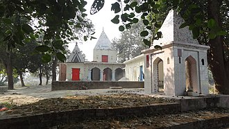 Basti district - Ramrekha Mandir, Amorha, Basti, Uttar Pradesh, India (रामरेखा मन्दिर - अमोढ़ा)