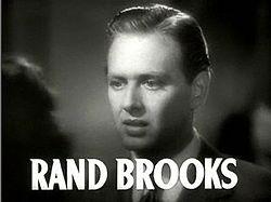 Rand Brooks in Dramatic School trailer.JPG
