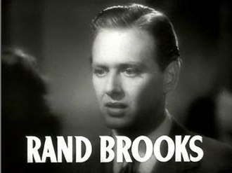 Rand Brooks - Brooks in the trailer for Dramatic School, 1938