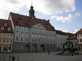 Themar Place in Thuringia, Germany