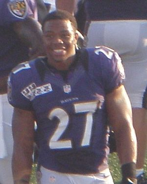 300px-Ray_Rice_2012 - Punching a fiance and future wife, the new sport? - Sports and Fitness