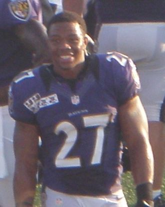Ray Rice - Rice at Navy–Marine Corps Memorial Stadium in 2012