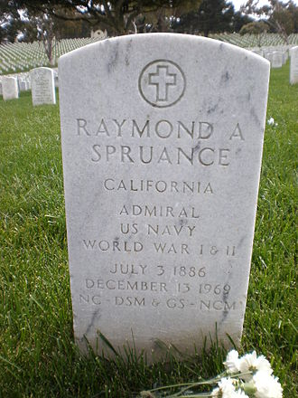 Raymond A. Spruance - Spruance's headstone at Golden Gate National Cemetery
