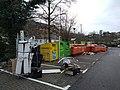 Recycling bins, Sainsbury's New Barnet.jpg