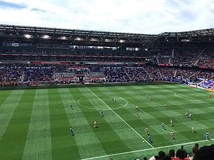 Hudson River Derby - Red Bull Arena during the Red Bulls' 4–1 victory over New York City