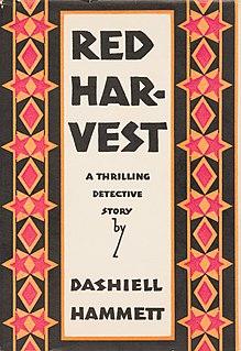 <i>Red Harvest</i> 1929 novel by Dashiell Hammett