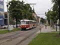 Reko TT Prašný most - Vítězné náměstí, Lotyšská, Tatra T3SUCS.jpg