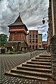 Rekonstrukcja XVI wiecznej modrzewiowej dzwonnicy przy kościele farnym p.w. św. Mikołaja, Bochnia.jpg