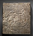 Relief- Assyrian soldier conducting captives across the water MET DP-12499-020.jpg