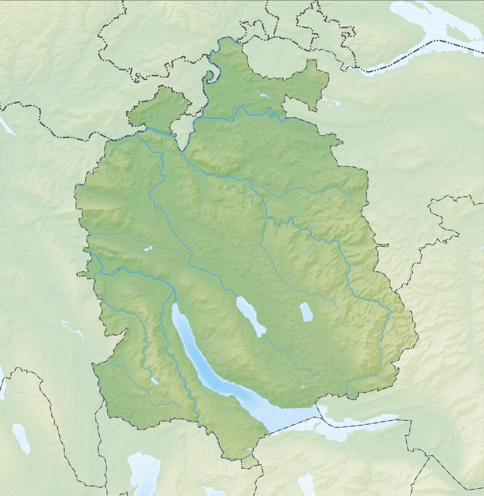 Zürich is located in Canton of Zürich