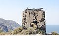 Remains of a windmill at the crater rim near Akrotiri - Santorini - Greece - 04.jpg