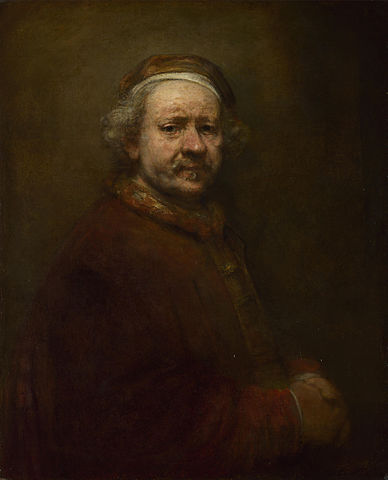 File:Rembrandt, Self Portrait at the Age of 63.jpg - Wikipedia  Selfportrait