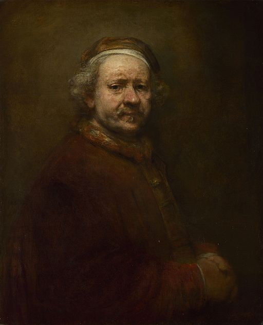"""""""Self Portrait at the Age of 63"""" by Rembrandt"""