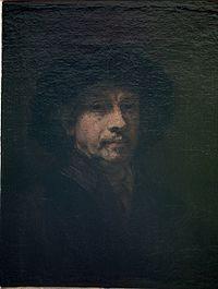 Rembrandt - Self-portrait c.1655 Uffizi.jpg