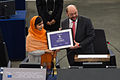 Remise du Prix Sakharov à Malala Yousafzai Strasbourg 20 novembre 2013 02.jpg