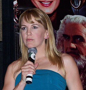 Renee O'Connor at a Xena Convention NJ, 2007