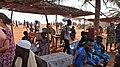 Restaurant in Vodoun Festival Grand Popo Benin Jan 2018.jpg
