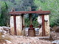 Restored olive press from the Roman Empire.jpg