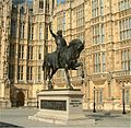 Richard I of England - Palace of Westminster - 24042004.jpg