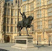 Richard I of England - Palace of Westminster - 24042004