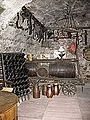 Riddling Racks in the Wine Cellar of the Brömserhof.jpg