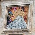 Ridipintura del dipinto sulla facciata della Chiesa di San Francesco d'Assisi - Noli.jpg