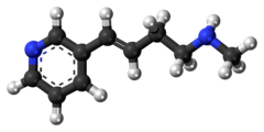 Ball-and-stick model of rivanicline