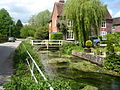 River Lambourn flwoing through Eastbury Berkshire.jpg