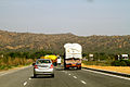 Roads in Rajasthan NH 11 A National Highway India March 2015.jpg