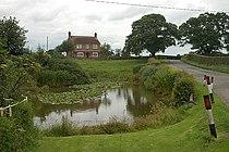 Roadside pond on NCR 45 - geograph.org.uk - 1440516.jpg