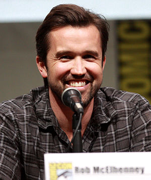 Rob McElhenney - McElhenney at the 2013 San Diego Comic-Con International.
