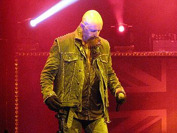 English: Rob Halford live in concert at Merriw...