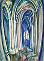 Robert Delaunay - Saint Séverin - 1909 - Boston Museum of Fine Arts.jpg