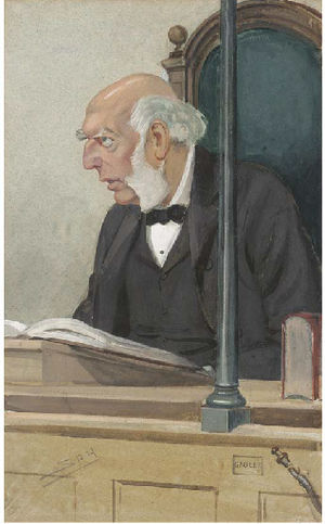 Magistrate (England and Wales) - Robert Henry Bullock-Marsham, stipendiary magistrate sitting at Bow Street, 1905